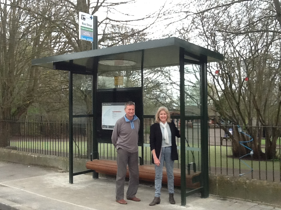Church Road New Bus Shelter